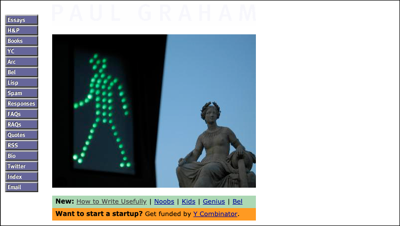Green man traffic light