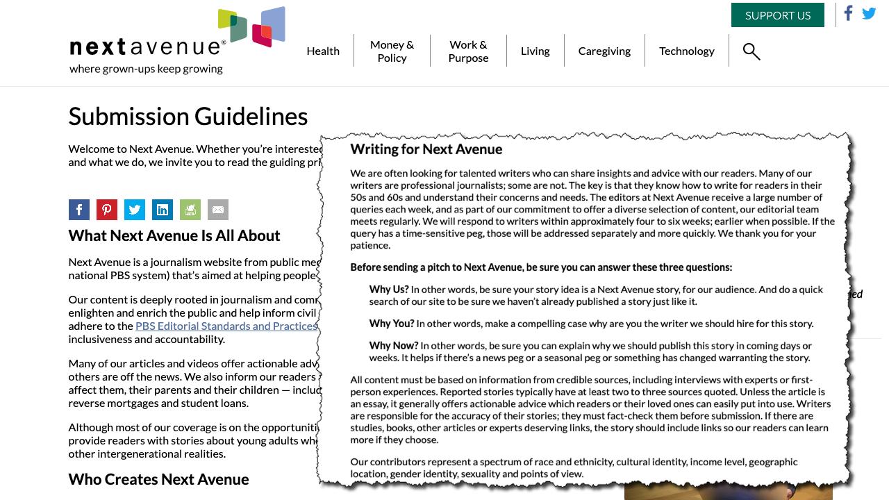 Web page - Screenshot